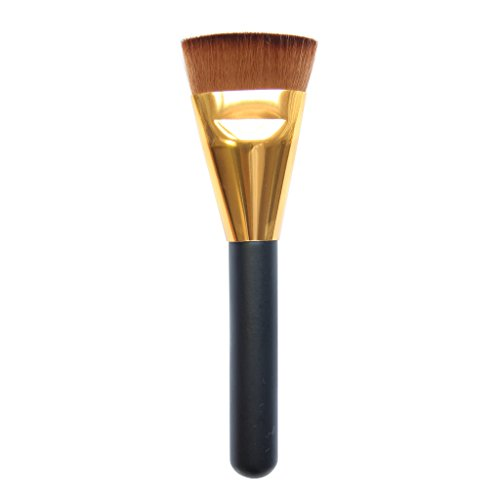 Imported Professional Flat Contour Brush Face Cheeks Blend Makeup Cosmetic Br