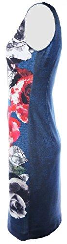 Joseph Ribkoff Damen Kleid Blau