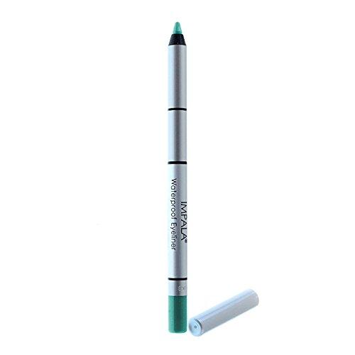 Impala - Lápiz de ojos waterproof cremoso Color Verde azulado Nº317 duradero