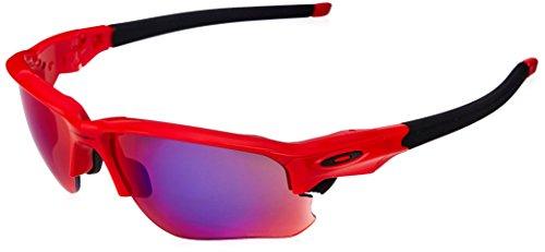 Oakley Herren Flak Draft Oo9364 936405 67 Mm Sonnenbrille, Rot (Rojo/Negro), 0