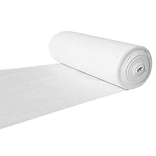 JIAJUAN Hochzeit Gang Läufer Weiß Teppich Innen- Draussen Festival Feier Zeremonie Teppiche Extra Lange (Farbe : Weiß, größe : 1x10m) - Rot Gang Läufer Hochzeit