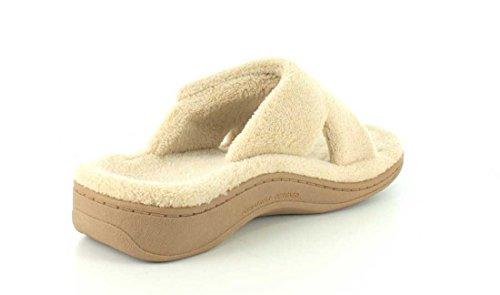 Orthaheel Women's Relax Slipper (Size 5/Dark Grey Zebra) Brun