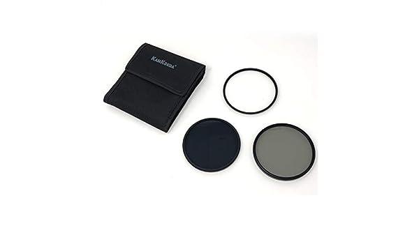 e custodia filtro polarizzatore circolare NDX8 KamKorda Kit filtro obiettivo 95 mm con filtro UV filtro a densit/à neutra