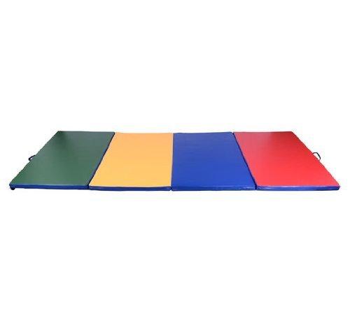 Homcom Gymnastik/Turn/Fitness-matte Weichbodenmatte 4 Fach klappbar, B1-0061