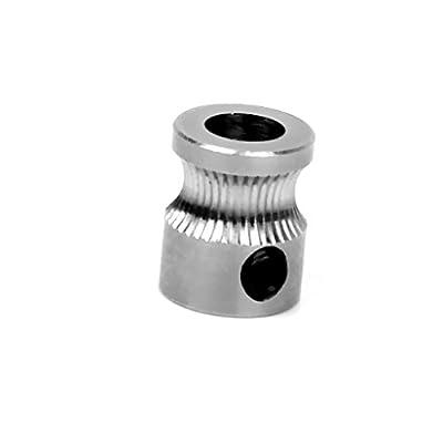 fà ¼ HRT RIQUE Ersatz MK8Extruder Ritzel verhelfen® nement 5mm alã © klug für 3mm Filament 3D Drucker