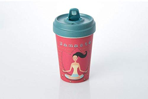 Coffe to go Becher Bamboo Cup (Yoga Love)