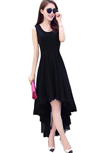Haresh Khatri Georgette Black Free Size Stich Western Dress