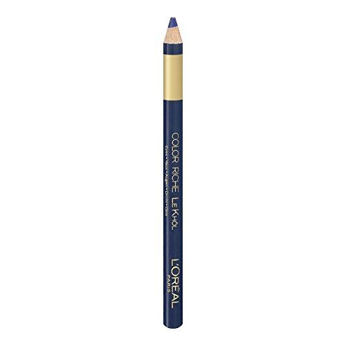 L'Oréal Paris Color Riche Le Khôl, 107 Deep Sea Blue - präziser und farbintensiver Kohl Kajal für perfekt betonte und ausdrucksstarke Augen, 1er Pack (1 x 1,1,5 g) -