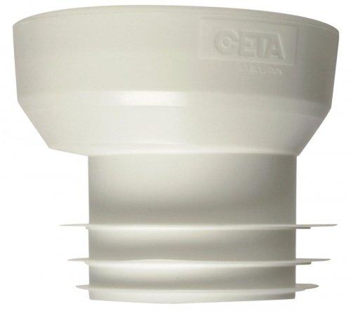CETA-Manschettenknöpfe Weich exzentrisch für Ausgang WC-Durchmesser 100