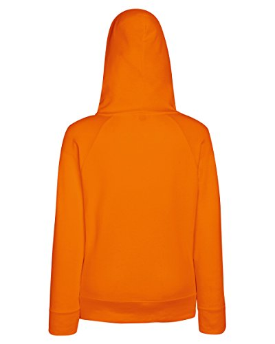 Fruit of the Loom - Sweat à capuche - Femme moyen Orange