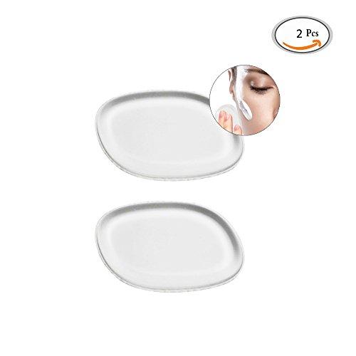 GoodPing la Beauté du Maquillage du Gel de Silice, Puff Parfait Bon Crème en Poudre Foundation du Maquillage Bouffée de Silicone Pour les Cosmétiques Crèmes Liquides ou Poudre de Sulfure de Beauté 2 Pcs