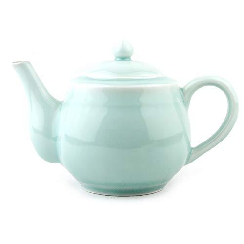 Porzellan-Teekanne Keramik Teekanne Ofen Teekanne Keramik Emaille Teekanne Kung Fu Tea Set Lila Sand...