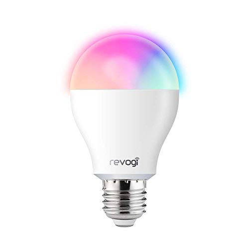 Dimmbare Bluetooth Licht, Smart Farbe LED Glühbirne Low Energy Wireless Glühbirne, Energieklasse A + Licht, Zeitplan, Anti-Einbrecher-Modus, Android 4.3 + iOS 6+, E26, 8 Watt (60 Watt Ersatz)