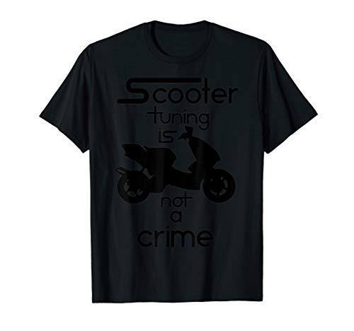 Scooter Tuning Is Not A Crime Vol Iii Hq Tshirt