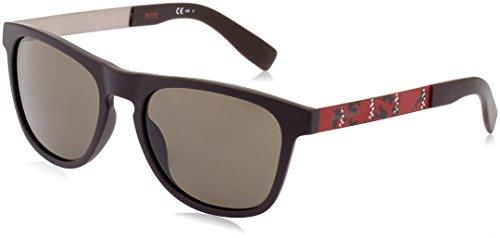 Boss orange bo 0270/s 70 j5b, occhiali da sole uomo, marrone (bw black antqbwred/brown), 55