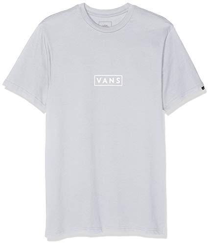 64ea80acee5f4 Vans Herren Easy Box Ss T-Shirt, Grau (Heather-White Tdj)