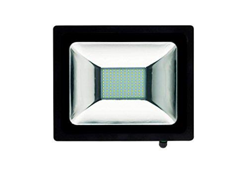 Projecteur LED 50W Noir sans detecteur - IP65 CE