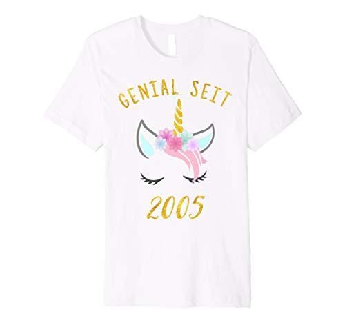 Genial seit 2005 Flossing Einhorn Gerburtstag T-Shirt