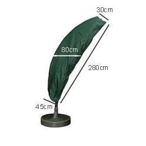 housse pour parasol d port avec pied 280cm gamme confort. Black Bedroom Furniture Sets. Home Design Ideas