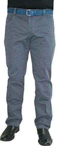 Meyer Hosen -  Jeans  - straight - Basic - Uomo Blau 58