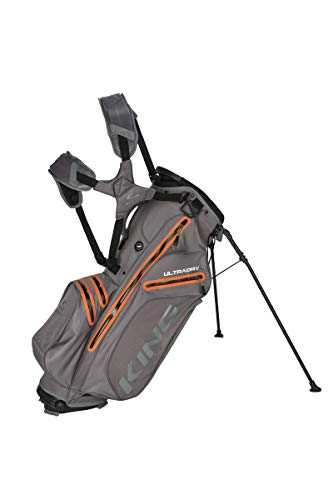 Cobra King UltraDry Stand Bag/Golfbag grau Puma Golftasche 909281, Farbe:grau orange - Bag Cobra Stand