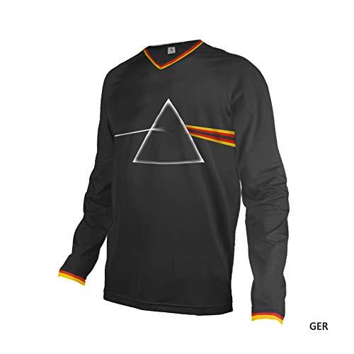 Uglyfrog Motocross Downhill Jersey Shirt Trikot Offroad Enduro Cross Herren T-Shirts Frühling Sommer Herbst Langarm/Kurze Ärmel Sweatshirts Top