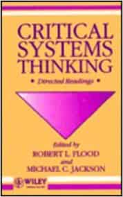 critical systems thinking directed readings