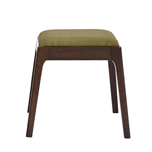 QINGPINGGUO QPG Hocker Massivholz Make-up Hocker Stoff Seitenhocker Sofa Hocker Eiche Dresser Hocker (Farbe : B) -