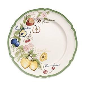 Villeroy /& Boch French Garden Beaulieu Plato para desayuno o postres Blanco//Colorido Porcelana Premium 21 cm
