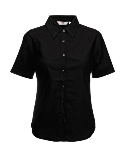 Fruit of the Loom S/S T-Shirt Noir - Noir