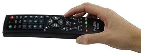 10in1 UNIVERSAL FERNBEDIENUNG TV FERNSEHER SAT Receiver Reciever Empfänger DVD Player VCR CTV DBS CBL HiFi VCD CD LD für Samsung LG Toshiba Grundig Panasonic Sony Medion Loewe
