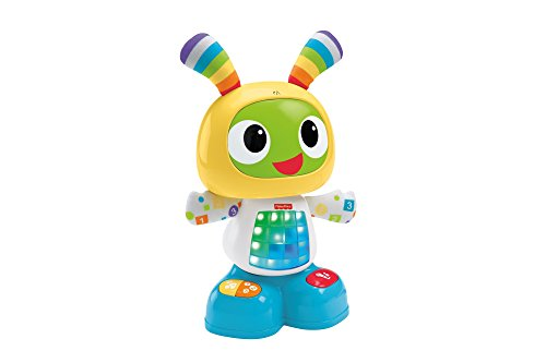 Fisher-Price CGV43 Dance and Move Beatbox, Baby Robot Learning Toy or Gift, Suitable for 1 Year Old