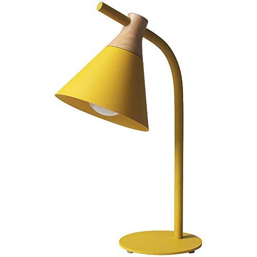LZDHY Maca Long Tablet Cuatro Colores Opcional Cama Moderna Creativa Bedside Lámpara Estudio Ojo Reloj Luces De Escritorio Regalos De Navidad De Halloween ( Color : Yellow )