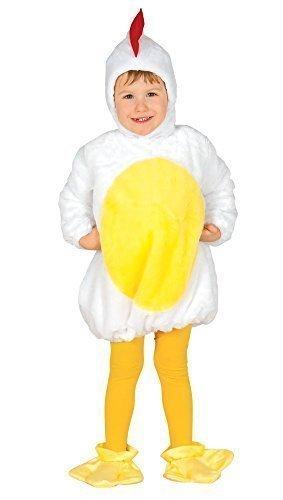 (Baby Mädchen Junge Oster Hühner Kücken Vogel Bauernhof Farm Fancy-Dress Kostüm Outfit 6 - 24 monate - 6-12 months)