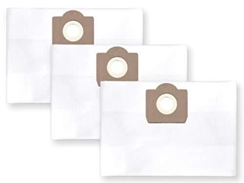 3x Vlies Staubbeutel Filtersack für FEINSTAUB/BAUSTAUB 6-lagig für KÄRCHER 2001