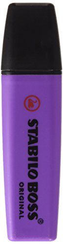 stabilo-surligneur-boss-original-rechargeable-pte-biseautee-2-5-mm-lavande