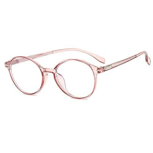 Yangjing-hl Kleine rote Buch Anti-Sommer-Straße Straße Brillengestell runden Rahmen Gesicht kleine Brillengestell durch Pulver -