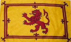 HUGE 8ft x 5ft Scotland Rampant Lion Scottish Polyester Flag by Flag Co -