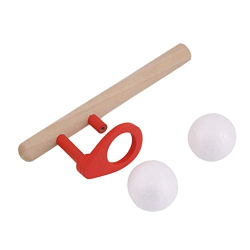 ningbao951 Montessori Materials Baby Wooden Blow Hobbies Outdoor Fun Sports Toy Ball Foam Floating Ball