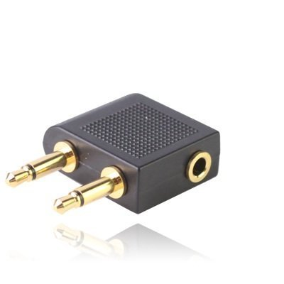 gold-plated-airplane-headphone-socket-adaptor-aircraft-airplane-airline-headphone-adaptor-twin-35mm-