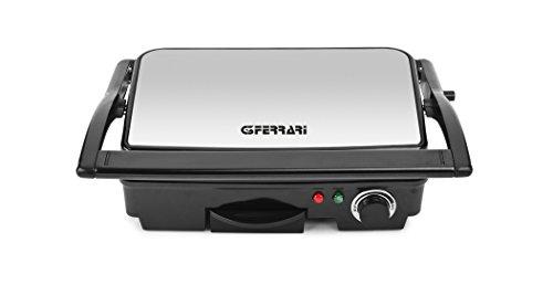 G3 Ferrari G10031 ARDOR Bistecchiera Apertura Libro, 2 Piastre Antiaderenti, 28X17 cm