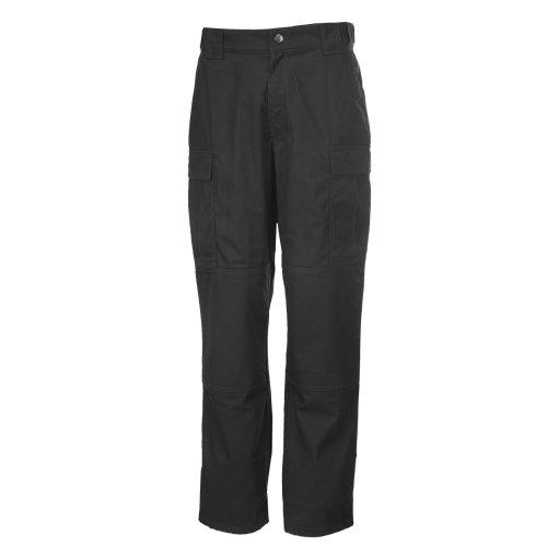 5.11 Tactical Herren Taclite TDU Professionelle Arbeitshose, Polyester-Baumwollgewebe, Style 74280, Herren, schwarz, 4X-Large/Short -