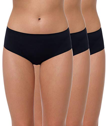 Yenita donna 3 pack slip bikini invisibile seamless ultimate