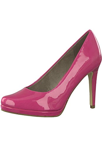 Tamaris 1-22446-20 513 Damen Fuxia Pink Plateau Pumps High-Heel, Groesse:39