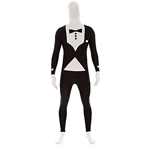 Agent Secret Smoking morphsuit Costume Second Skin