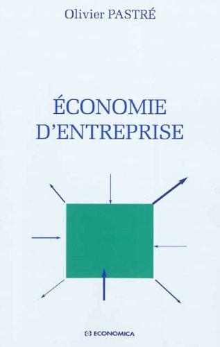 Economie d''Entreprise