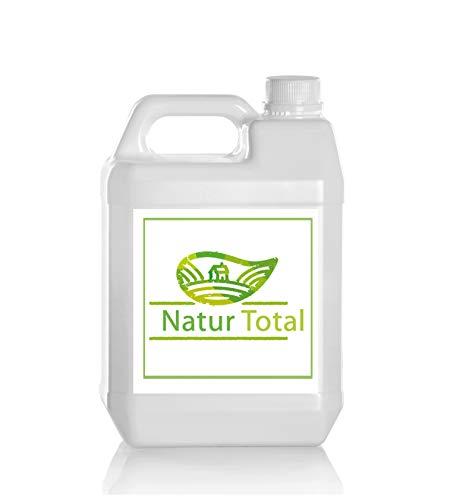 Natur Total Laborwasser, Reinst-Wasser, Labor Wasser, 2-fach destilliertes Wasser, durch Osmose entmineralisiert für Industrie und Haushalt (25 Liter (5 mal 5l))