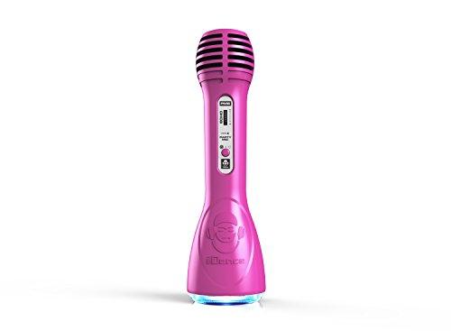 Preisvergleich Produktbild iDance Mikrofon violett Wireless Bluetooth Leistung: 5 Watt