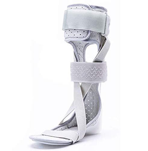 MTZ Orthomen Knöchel Fußorthese Unterstützung Drop Fußstütze Schiene, rechter Fuß, L,rightfoot,M -