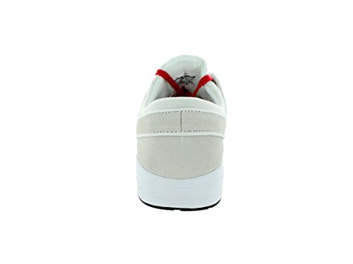 Nike  Stefan Janoski Max L, Chaussures de skate homme Blanc - summit white/university r/weiß